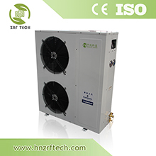 ZR-09MD Compact heat exchanger, Top outlet hydraulic heat exchanger, Aluminum coil Condensing Unit