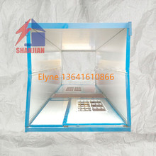 Foldable Prefab Container house/20FT Folding Living Container/Expandable cabin Foldable Container for office and toilet
