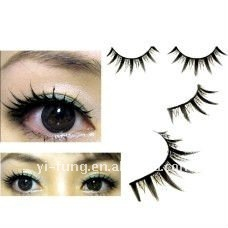 10 Pairs Extra Long and Curl Black False Eyelash