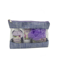 Hot Sales Bath and Body Gift Set For Travel Cosmetic Bag