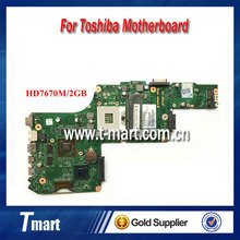 100% worling V000275240 DK10FG-6050A2491301-MB-A03 FOR Toshiba Satellite L850 laptop motherboard PGA989 HD7670M/2G Fully tested
