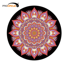ProCircle Eco-Friendly Round Natural Rubber Yoga Mat