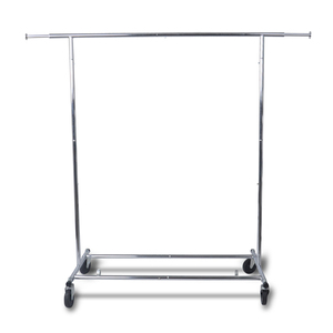 Heavy Duty Steel Hanging Commercial Clothes Drying Garment Rack
