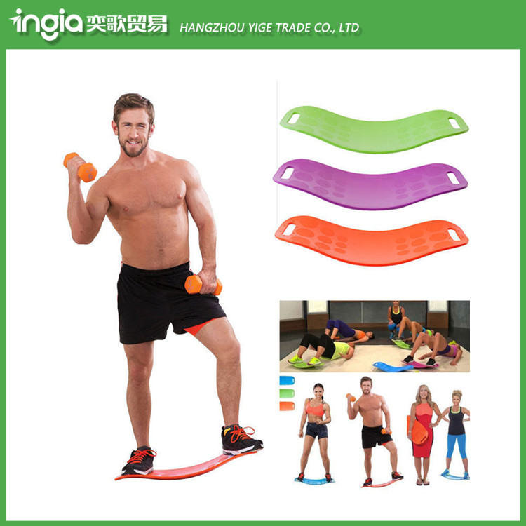 On sale!!Yoga Fitness Balancing Trainer New Hot Workout Healthy ABS Fit Balance Board
