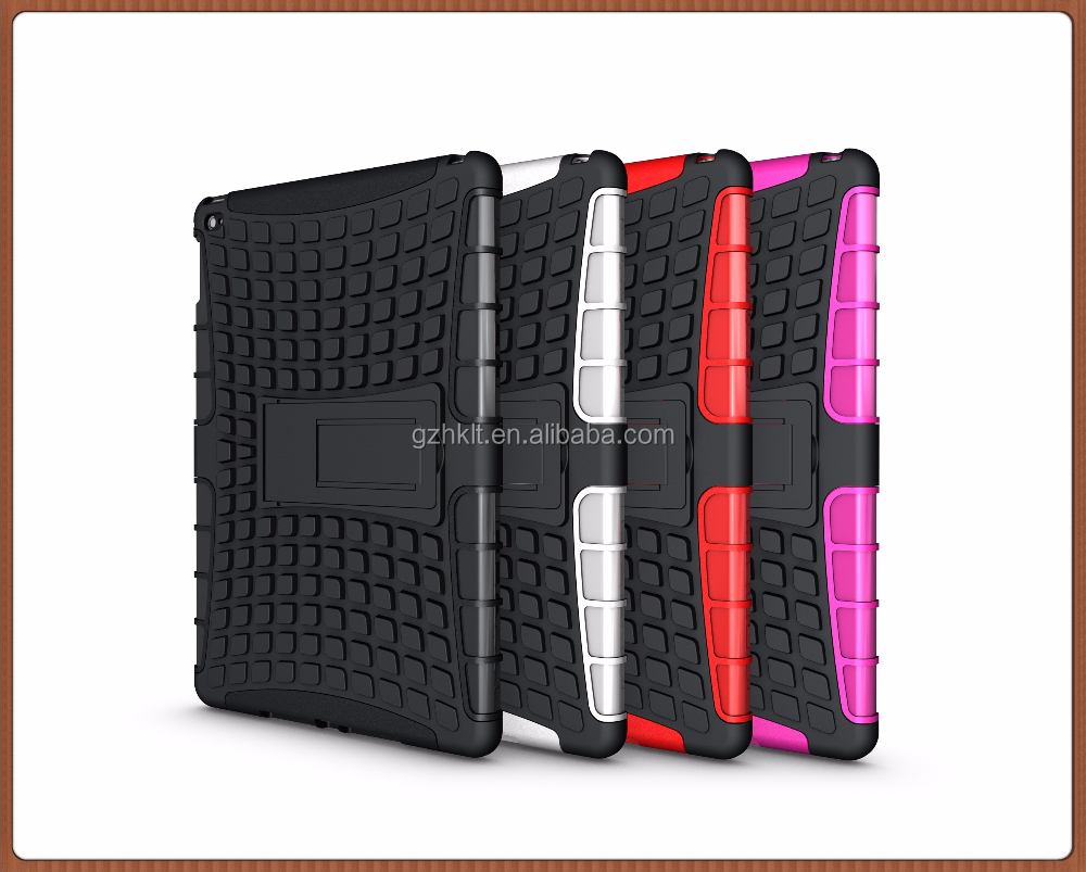 Hot selling Europe and America style PC TPU tablet case for iPad 6/Air 2