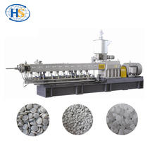 Waste Recycling Plastic Film Granule Making Twin Screw Extrusion Production Machine Line