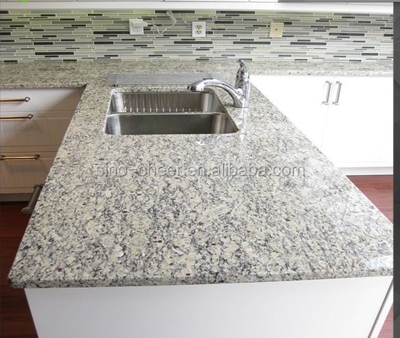 Best price Santa Cecilia pre cut granite table top For wholesale