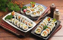 China supplier eco-friendly bamboo sushi mat publix