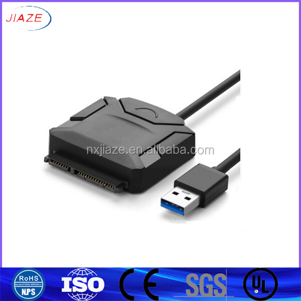 "Easy and Quick Access External Storage USB 3.0 to SATA Adapter/USB 3.0 SATA cable to 22Pin 2.5"" HDD/SSD Hard Disk Driver Adapter"