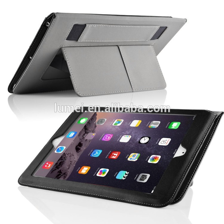 Ultra Slim PU Leather Case For Ipad Air 2, for ipad 2 cover leather