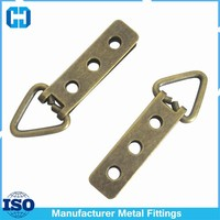 Supply Photo Frame Hardware Accessories Metal Triangle Hook With Three Holes