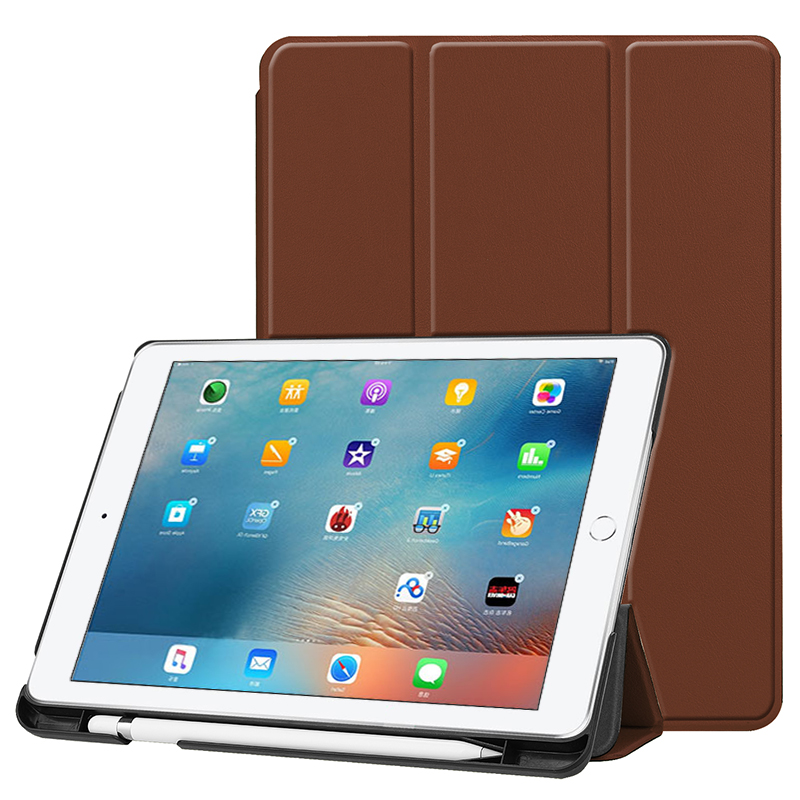 Super Slim Cover For Apple <strong>iPad</strong> 9.7 inch 2018 Case Ultra Flip Leather Stand Case