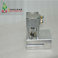 triangle hole chamfer tool for paper/plastic film