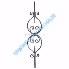 Wholesale wrought iron ornaments window iron baluster
