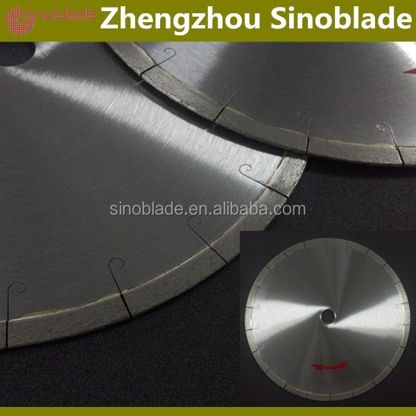 Fish hook Continuous rim Diamond saw blade for tile ceramic porcelian cutting