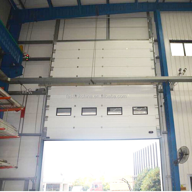 Automatic stainless steel cheap large industrial aluminum folding door/fast doors