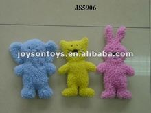 plush animal shaped stuffed pet toys