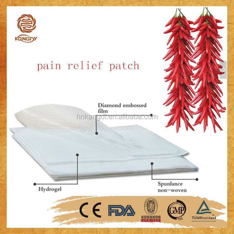 chian supply OEM /ODM service herbal medical with aromatic smell capsicum plaster