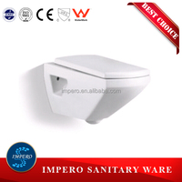 Bathroom Product Sanitary Ware Wc Wall Mounted Toilet With Conceal Tank