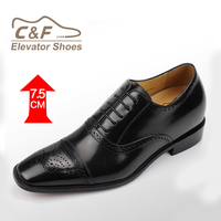Wholesale made in China oxford genuine leather pointed toe men black shoes/brazilian shoe brands/shoes man