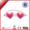 cheap health care pvc anti-wrinkle sleep mask with heart shape