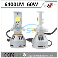 2016 High power CST 6G led headlamp 6400LM 40W car led bulb