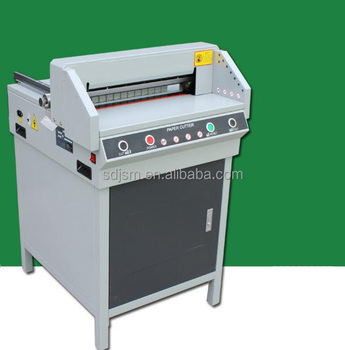 Electric paper cutting machine/automatic paper cutter/program paper guillotine for sale