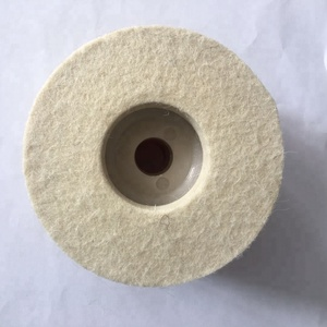 Wool Felt Polishing Wheel Wool Disc For Mirror Finish Abrasive Products Glass Polishing Tools