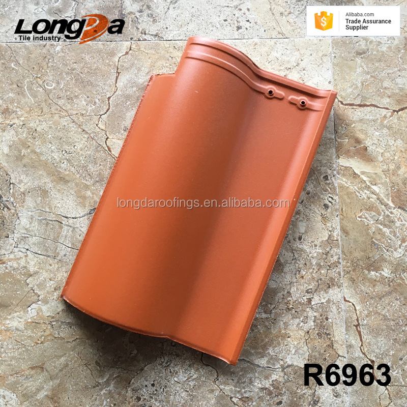 New high quality Chinese red clay roof tiles with roman styles