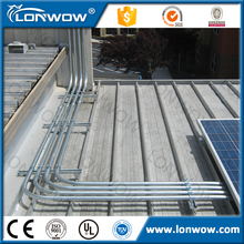 Factory Directly hollow section Galvanized Round Steel Pipes for routing of conductors and cables