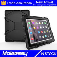Guangzhou manufacturer wholesale minion case for ipad 2 3 4 64gb kids proof rubber case