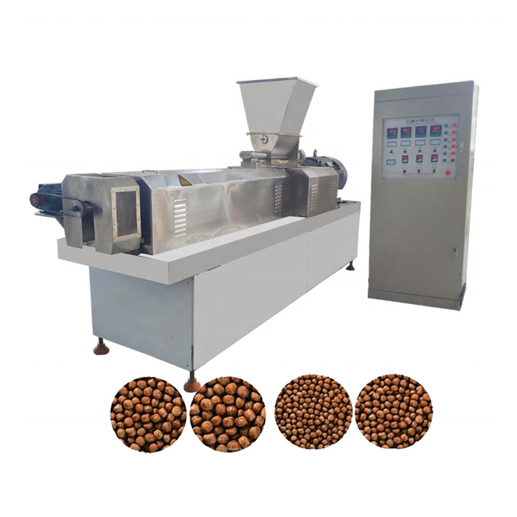 Small scale complete set line 120-150 kg/<strong>h</strong> sinking fish feed and floating fish feed production plant machine