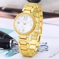 REBIRTH 2017 Luxury black watch women bracelet watches girls full steel stainless lady gift quartz dress wrist watch