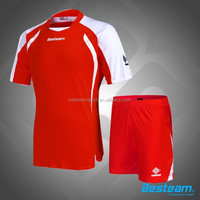 Home and away custom top quality cheap team soccer jersey,soccer kits football jersey