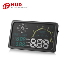 6 Inch Universal car hud vehicle-mounted head up display I6 hud obdii display hud obd With Compass Speed/ Temperature Indicator