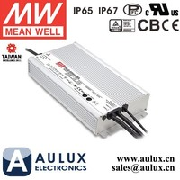 Mean Well Led Power Supply HLG-600H-15B 600W 15V 36A 0-10V Dimming Led Driver