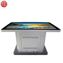 Multimedia Kiosk touch screen table with mini speaker