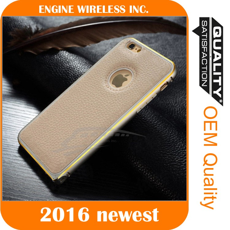 wholesale simple mobile phone case leather for iphone 4 case