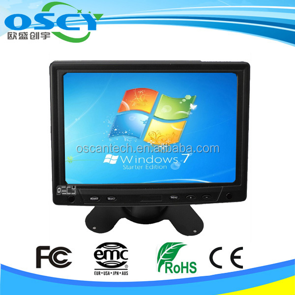 0TM-7000 7 inches cheap VGA HDMI DVI TFT LCD Color Car touch screen monitor