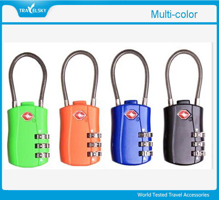 Approved 3-Dial Travel Luggage TSA Combination Lock