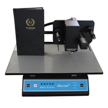 Audley hot stamping machine for book cover,visa cover and diploma cover ADL- 3050A