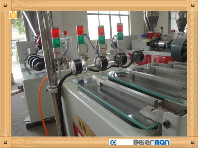 SJSZ-65/132 twin screw PVC electric hose production line for sale