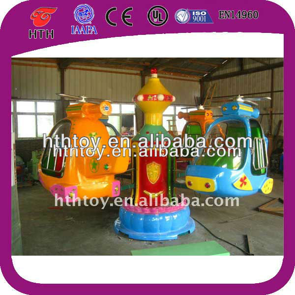 Pop and new indoor mobile park ,airplane amusement park equipment