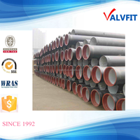 ISO2531 cement lined Ductile Iron Pipe K9