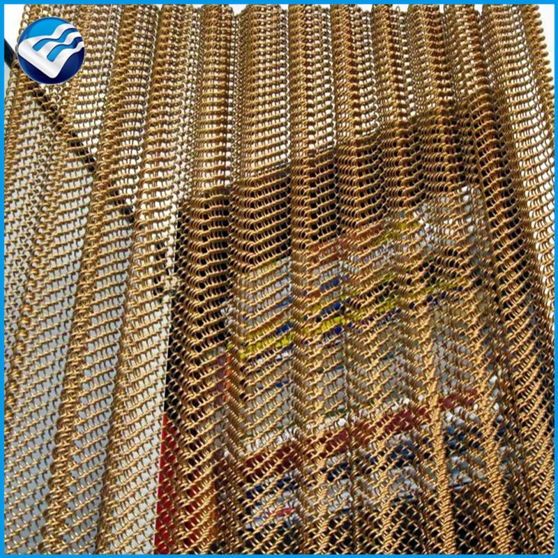 high density stainless steel decorative wire mesh