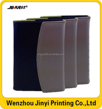 Refillable Pu Leather Notebook With Pen