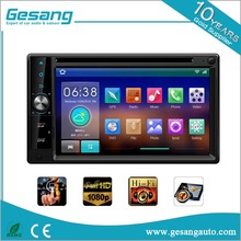 1080P, Android 5.1touch screen 6.2 Inch car multimedia system DVD Player for Universal Vehicle