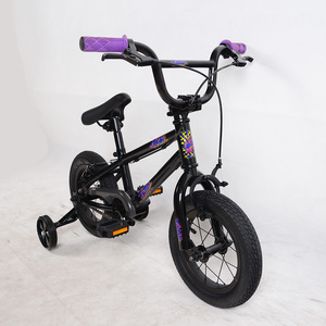 Most popular hi-ten steel frame 12 inch wheel size kid bike bmx bicycle for sale