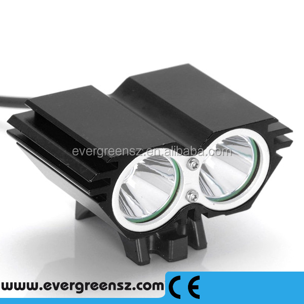 New 2T6-01 CREE 3000 Lumen <strong>Led</strong> <strong>Bicycle</strong> <strong>LED</strong> <strong>Light</strong> Set From China