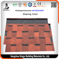 SGB Factory Directly Selling Asphalt Shingle/Roof Tile Shingles/Laminated Roofing Shingles